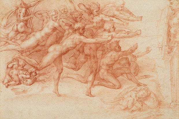 Archers Shooting at a Herm by Michelangelo, Courtesy the Metropolitan Museum of Art