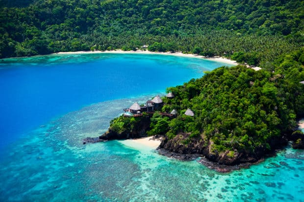 Unparalleled ocean and jungle views at Laucala Island Resort in Fiji
