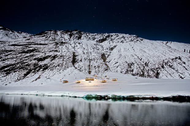 Heli-skiing is one of the most popular activities offered at Minaret Station in New Zealand.