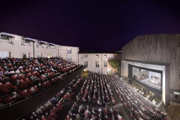 The Archbishop Theater in Aix-en-Provence