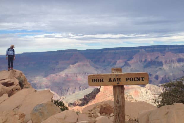 A vista point on Kaibab Trail in the Grand Canyon National Park in Arizona. Courtesy Indagare