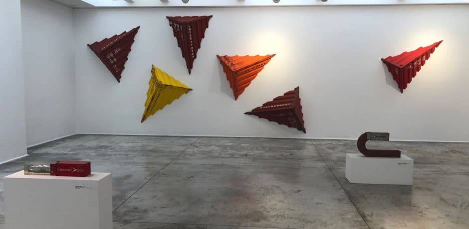 Bogota's contemporary art scene is on display in many art galleries.