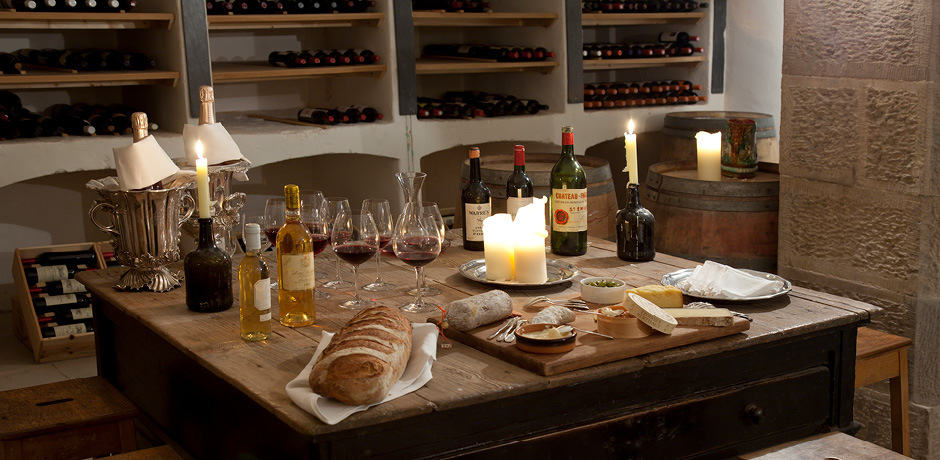 Ballyfin offers private wine (and whiskey) tastings daily with the property's sommelier. Courtesy Ballyfin.