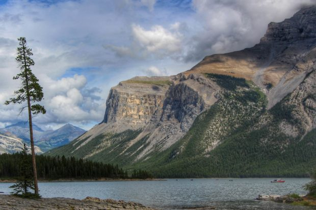 The rugged terrain of the Canadian Rockies at Banff and Lake Louise. Courtesy Ralph Rodriguez