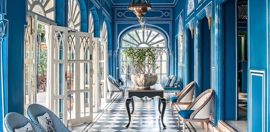 The Instagram-famous décor of Bar Palladio, Jaipur. Photo by Henry Wilson