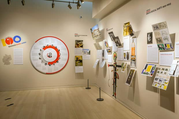 The Bauhaus history of Aspen is on view this winter. Photo by Dan Bayer.