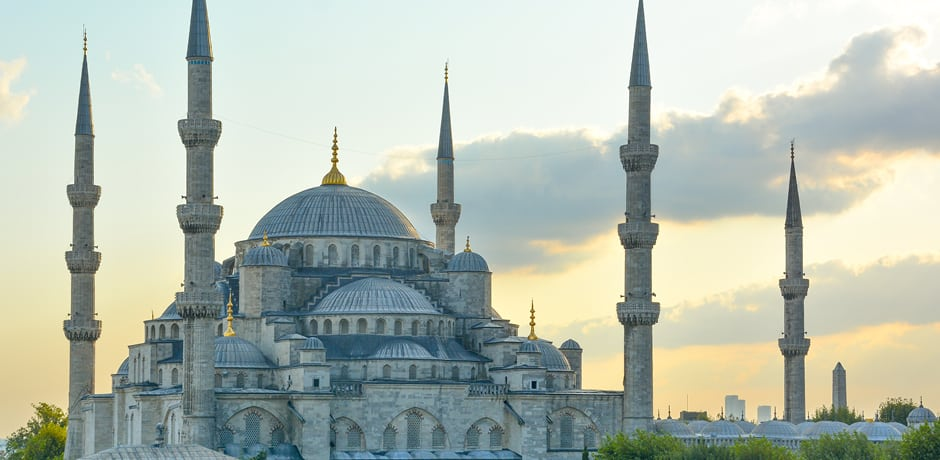 The Blue Mosque, an icon of the Istanbul skyline, is one of the sites the AD x Indagare Insider Journey group will tour with an expert historian.