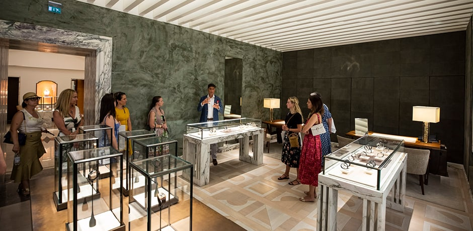 A behind the scenes tour of the Bvlgari headquarters with the brand's Creative Director.