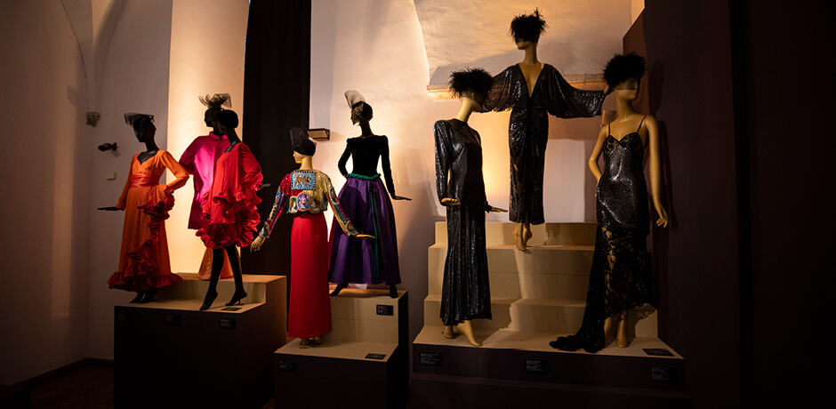 Dazzling looks at the new Bvlgari exhibit at the Museo Nazionale di Castel Sant'Angelo, which our group enjoyed on a private tour.