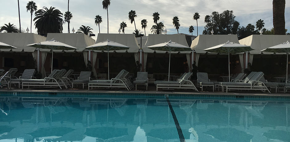 Cabanas at The Beverly Hills Hotel