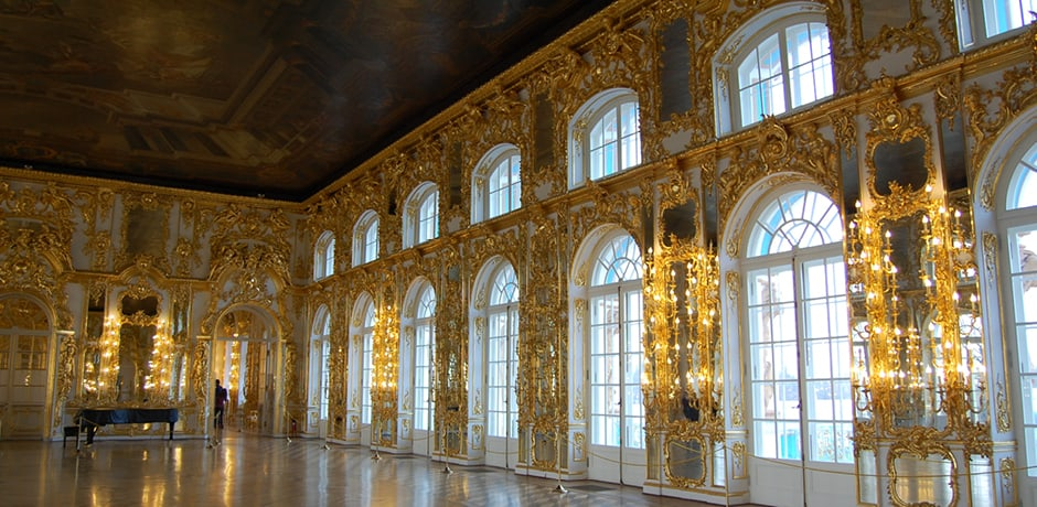 The lavish interiors of Catherine Palace, which our Insider Journey group will have VIP access to in October.