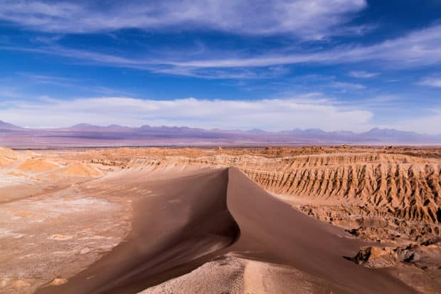 A view of the Atacama Desert