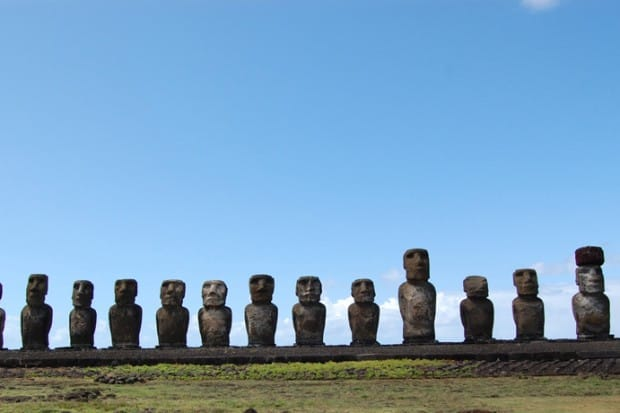 The Heads of Easter Island
