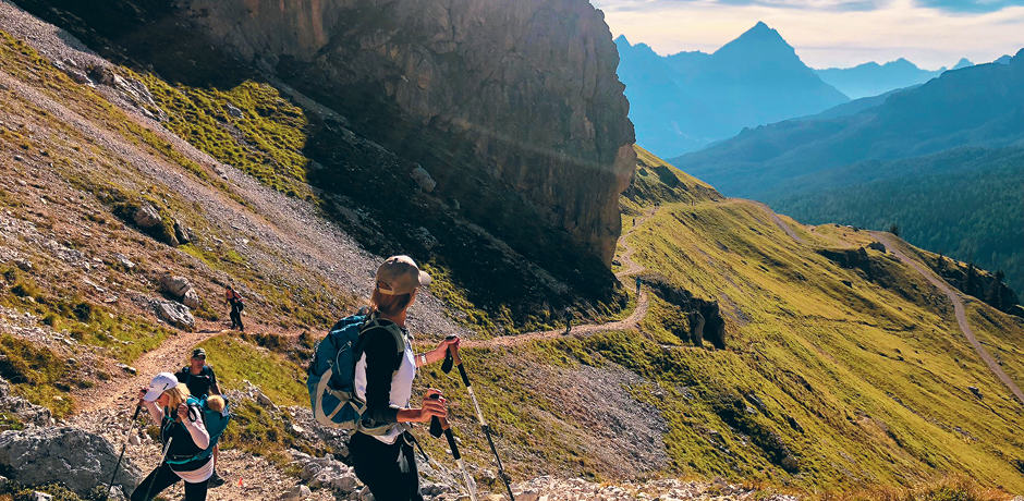 Hiking on the Insider Journey to the Dolomites in 2019