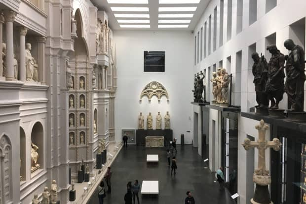 The Opera del Duomo museum in Florence, Italy.
