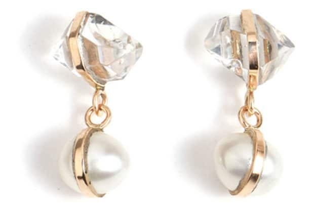 Melissa Job Manning Moonstone Single Drop Earings