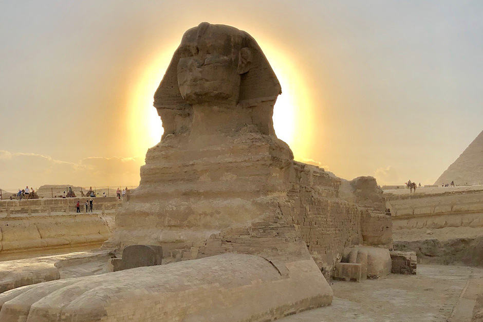 A view of the Sphinx on the 2018 Insider Journey to Egypt