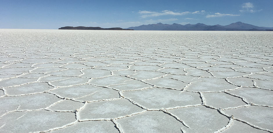 Surreal landscapes of Salar de Uyuni