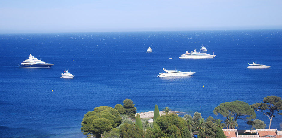 Yachts in the French Riviera. Courtesy Indagare