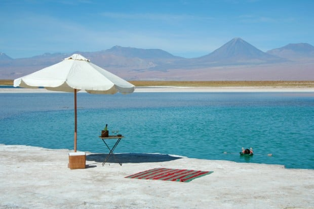 Waterfront at Awasi, Atacama Desert, Chile