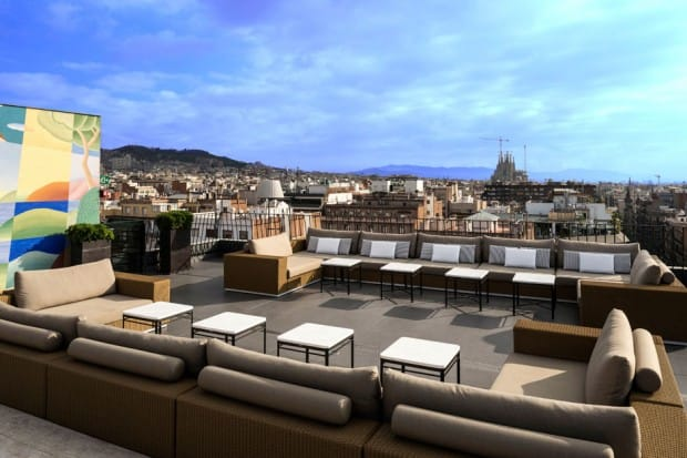 La Dolce Vitae rooftop bar in Barcelona