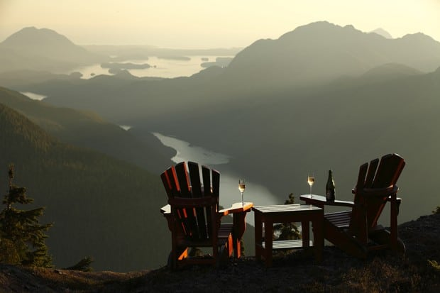 Courtesy Clayoquot Wilderness Resort