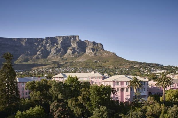 Signature shot at Belmond Mount Nelson Hotel, Cape Town, South Africa - Photo Courtesy Mark Williams