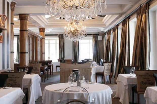 The dining room at Cape Grace
