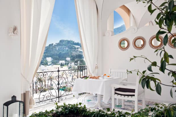 Courtesy Capri Tiberio Palace