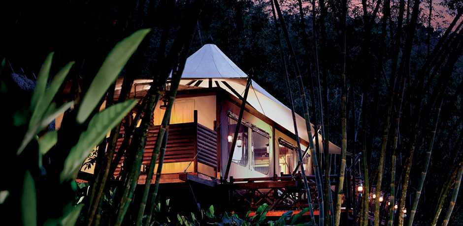 The Four Seasons Tented Camp in the Golden Triangle, Chiang Mai is one of Indagare's favorite romantic hotels in Asia.