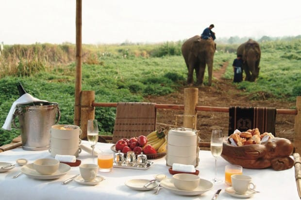 Courtesy Four Seasons Tented Camp Golden Triangle