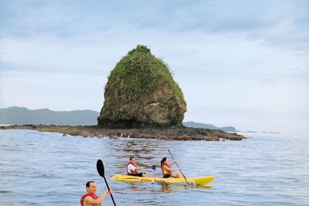 Kayaking in Costa Rica, Courtesy Four Seasons Costa Rica