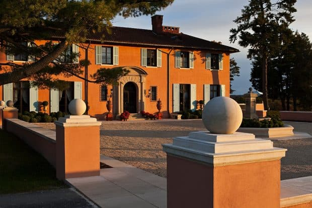 The Tuscan-style Glenmere Mansion. Courtesy Glenmere Mansion