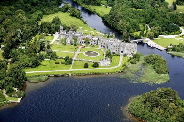 Overlooking Ashford Castle