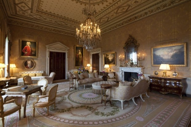 The Gold Room at Ballyfin
