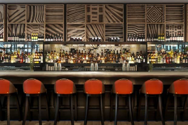 Bar at Ham Yard Hotel, London