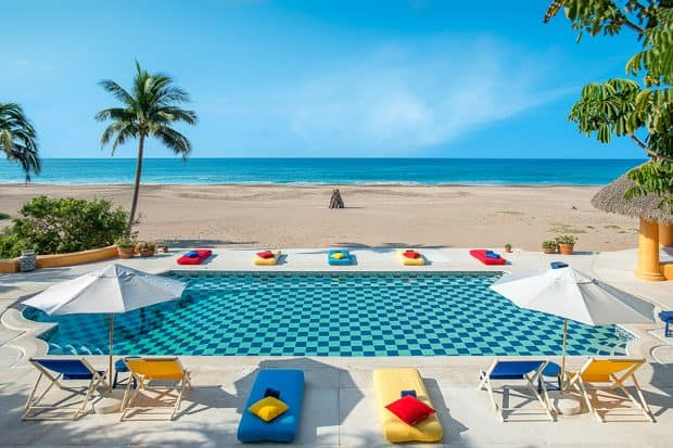 Billionaire Mexican Beach Resort Cuixmala luxury getaway