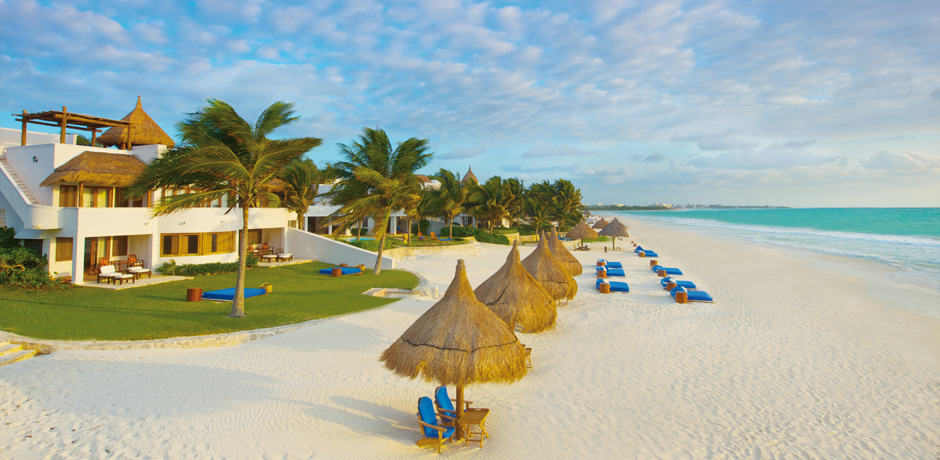 With white sand beaches, turquoise seas, exhilarating eco-adventures and Mayan ruins, the Riviera Maya offers something for everyone. The first luxury resort on the Riviera Maya, Belmond Maroma sits on the area's best beach and has an authentic, destination-specific vibe. Image Courtesy Belmond Maroma.