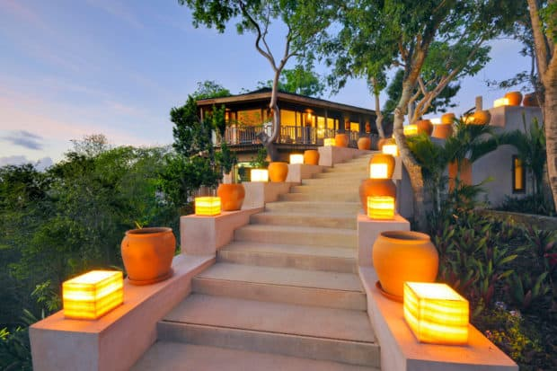 Sheherezade House, a villa in Mustique, Courtesy Dale Curtis