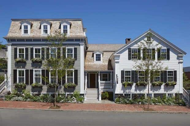 Front exterior of Greydon House on Nantucket