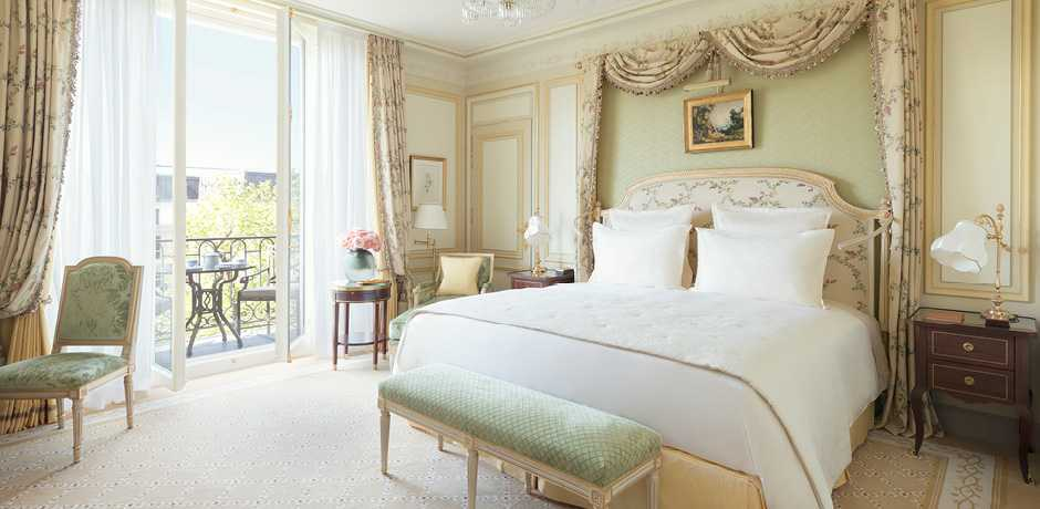 The Ritz Paris is one of the most iconic romantic hotels in the world.