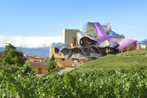 Hotel Marques de Riscal in Spain