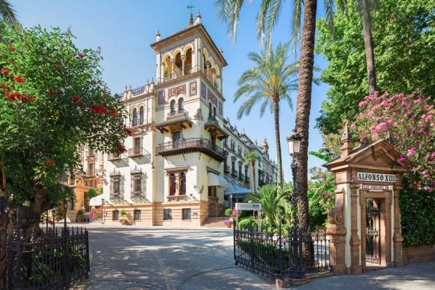 Hotel Alfonxo XIII in Andalusia, Southern Spain