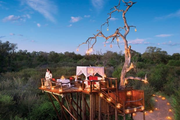 Chalkley Treehouse at Lion Sands Game Reserve