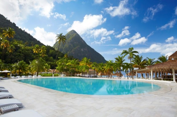 Courtesy Sugar Beach, A Viceroy Resort, St. Lucia