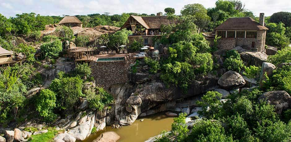 Mwiba Lodge from above
