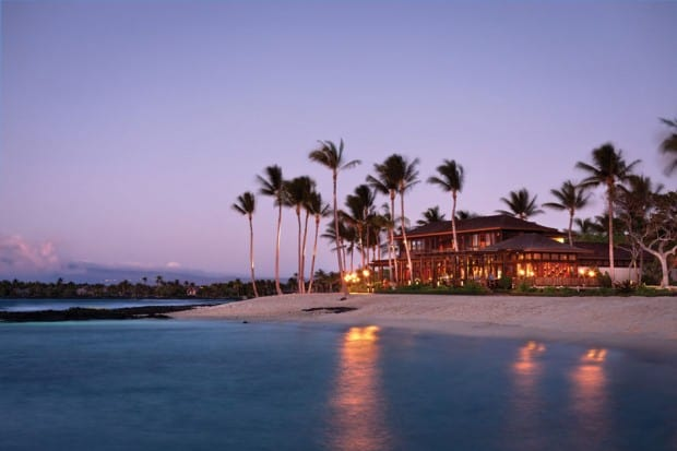 Courtesy Four Seasons Resort Hualalai, Big Island, Hawaii
