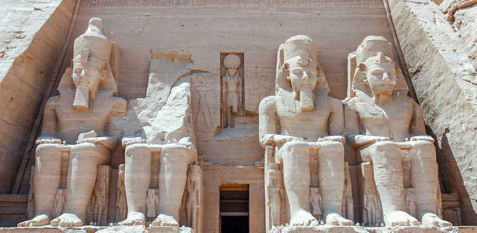 Some of the best preserved monuments of Ancient Egypt can be toured at Abu Simbel.