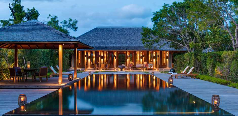A private villa at Amanyara in Turks & Caicos, one of our favorite Caribbean destinations that has made a major comeback since Hurricane Irma. Courtesy Amanyara.