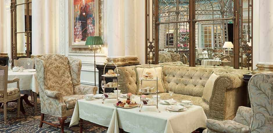 Few activities are cozier than holiday tea at The Savoy in London. Courtesy The Savoy.